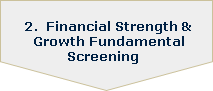 2. Financial Strength and Growth Fundamental Screening